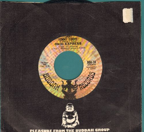 Ohio Express - Yummy, Yummy, Yummy/Zig Zag (with Buddah company sleeve) - VG7/ - 45 rpm Records