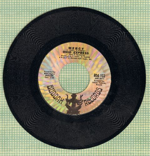 Ohio Express - Mercy/Roll It Up (bb) - VG7/ - 45 rpm Records