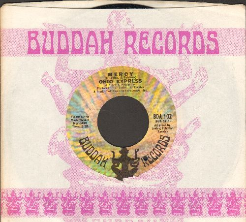 Ohio Express - Mercy/Roll It Up (with Buddah company sleeve) (bb) - NM9/ - 45 rpm Records
