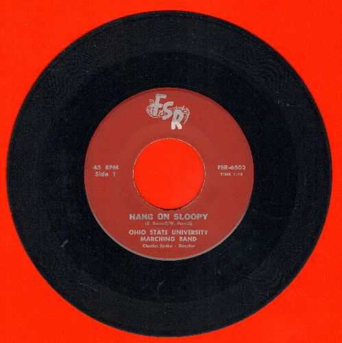 Ohio State University Marching Band - Hang On Sloopy/Downtown - VG7/ - 45 rpm Records