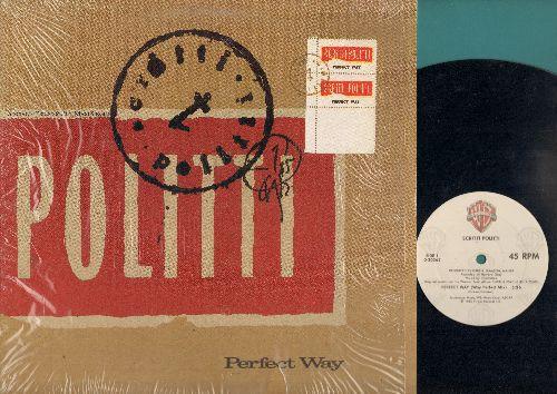 Politti - Peferct Way (Vinyl Maxi Record) - EX8/NM9 - Maxi Singles