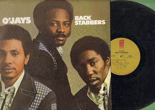 O'Jays - Back Stabbers: Love Train, Mr. Lucky, 992 Arguments, Who Am I (vinyl STEREO LP record) - VG7/EX8 - LP Records