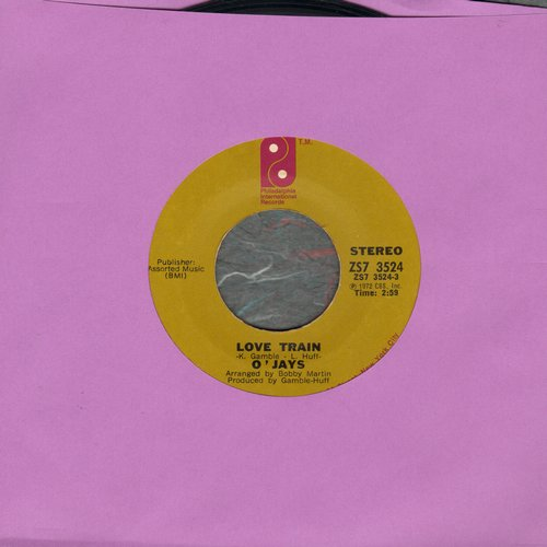 O'Jays - Love Train/Who Am I  - VG6/ - 45 rpm Records