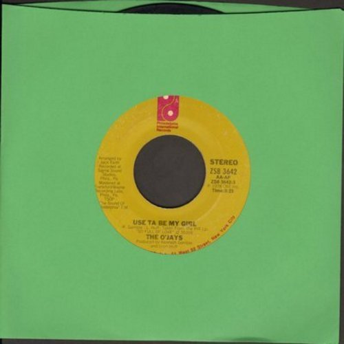 O'Jays - Used Ta Be My Girl/This Time Baby (with juke box label) - EX8/ - 45 rpm Records