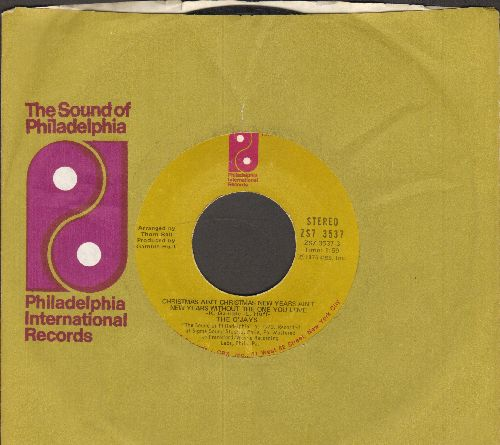 O'Jays - Christmas Ain't Christmas New Year's Ain't New Year's Without The One You Love/Just Can't Get Enough (with Philadelphia International company sleeve) - EX8/ - 45 rpm Records