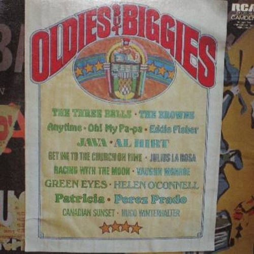 Fisher, Eddie, Perez Prado, Browns, Al Hirt, others - Oldies But Biggies: Oh! My Pa-Pa, Patricia, The Three Bells (Les Trois Cloches), Java, Get Me To The Church On Time (Vinyl STEREO LP record) - NM9/NM9 - LP Records