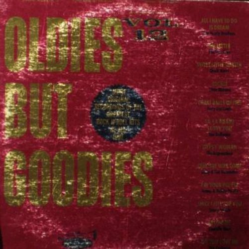 Everly Brothers, Chuck Berry, Little Richard, Contours, others - Oldies But Goodies Vol. 12: All I Have To Do Is Dream, Lucille, I'm Your Puppet, Do You Love Me, Our Day Will Come (Vinyl LP record) - NM9/VG7 - LP Records
