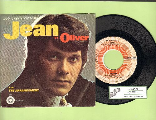 Oliver - Jean (From film The Prime Of Miss Jean Brodie)/The Arrangement (with juke box label and picture sleeve!) - NM9/NM9 - 45 rpm Records