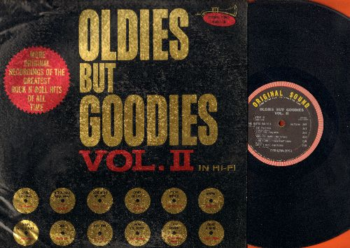 Clovers, Jessie Belvin, Turbans, Joe Turner, others - Oldies But Goodies Vol. 2: Devil Or Angel, Goodnight My Love, When You Dance, Gee, Glory Of Love (Vinyl MONO LP record) - VG7/VG6 - LP Records