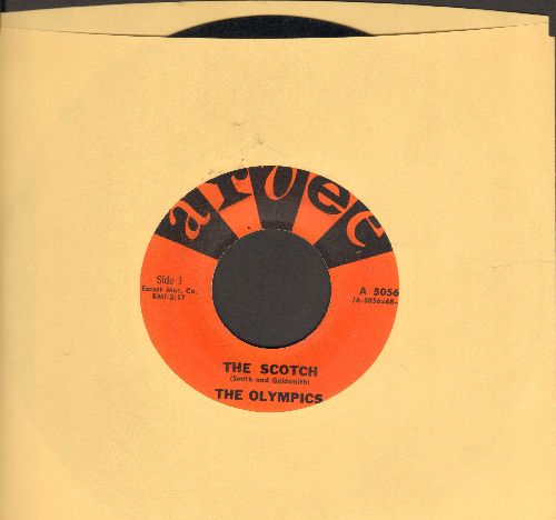 Olympics - The Scotch/Baby, It's Hot (RARE Vintage R&B two-sider!) - NM9/ - 45 rpm Records