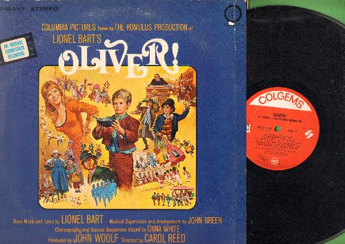 Oliver! - Oliver! - Ortiginal Motion Picture Soundtrack (vinyl STEREO LP record, gate-fold cover) - NM9/VG7 - LP Records