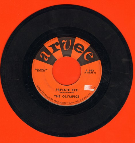 Olympics - Private Eye/(Baby) Hully Gully - VG7/ - 45 rpm Records