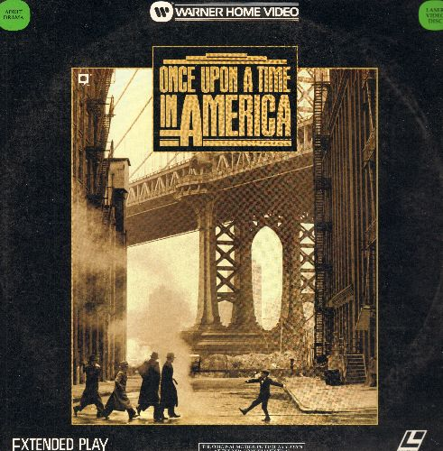 Once Upon A Time In America - Once Upon A Time In Amerrica Double LASERDISC - NM9/EX8 - LaserDiscs