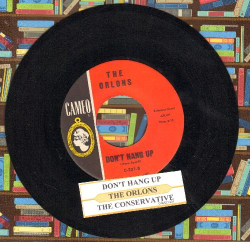 Orlons - Don't Hang Up/The Conservative (MINT condition with juke box label) - M10/ - 45 rpm Records