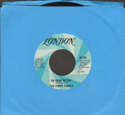 Poppy Family - No Good To Cry/I'll See You There - NM9/ - 45 rpm Records