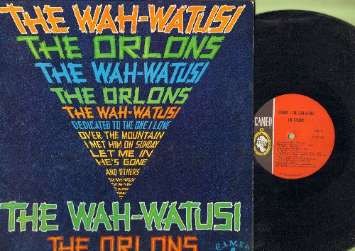 Orlons - The Wah-Watusi: I Met Him On A Sunday, Mashed Potato Time, Gravy, Dedicated To The One I Love (Vinyl MONO LP record) (wol, soc) - EX8/EX8 - LP Records