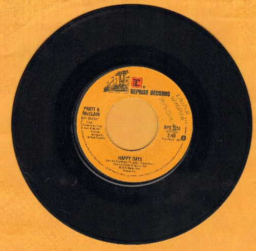 Pratt & McClain - Hapopy Days/Cruisin' With The Fonz - VG7/ - 45 rpm Records