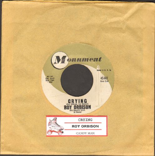 Orbison, Roy - Crying/Candy Man (with juke box label) - VG7/ - 45 rpm Records