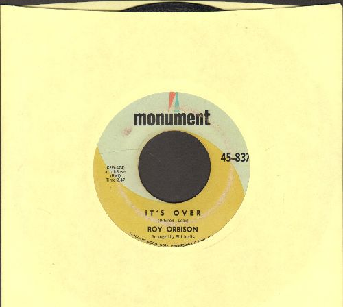 Orbison, Roy - It's Over/Indian Wedding  - VG6/ - 45 rpm Records