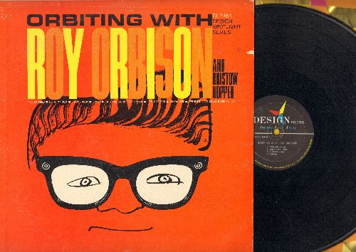 Orbison, Roy - Orbiting With Roy Orbison and Bristow Hopper: Problem Child, You're My Baby, Domino, Mandy Mine, Seventeen Little Kisses (vinyl MONO LP record) - EX8/VG7 - LP Records