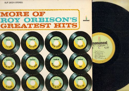 Orbison, Roy - More Of Roy Orbison's Greatest Hits: It's Over, Blue Bayou, Pretty Paper, Indian Wedding, What'd I Say (vinyl STEREO LP record) - NM9/NM9 - LP Records