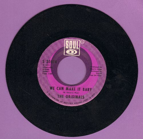 Originals - We Can Make It Baby/I* Like Your Style - EX8/ - 45 rpm Records