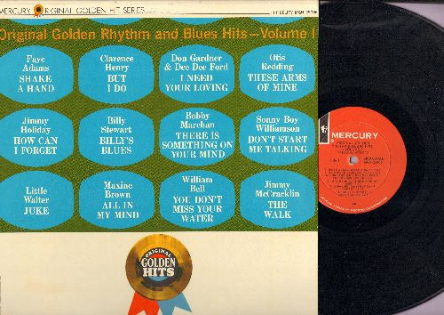 Adams, Faye, Otis Redding, Little Walter, others - Original Golden Rhythm & Blues Hits Vol. 1: Shake A Hand, But I Do, The Walk, Juke, Billy's Blues (vinyl MONO LP record) - EX8/EX8 - LP Records