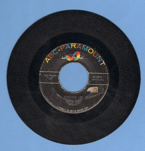 Price, Lloyd - Stagger Lee/You Need Love  - VG7/ - 45 rpm Records