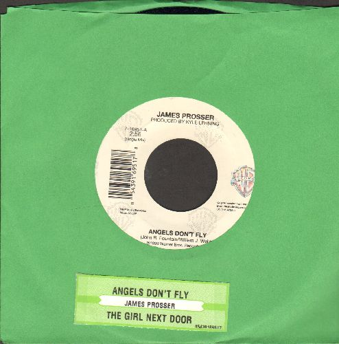 Prosser, James - Angels Don't Fly/The Girl Next Door (with juke box label and Warner Brothers company sleeve) - NM9/ - 45 rpm Records