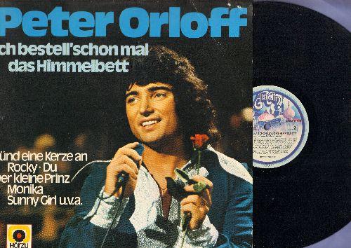 Orloff, Peter - Ich bestell' schon mal das Himmelbett: Der kleine Prinz, Rocky, Drei Stufen (Three Steps To Heaven) (Vinyl LP record, German Pressing, sung in German) - EX8/EX8 - LP Records