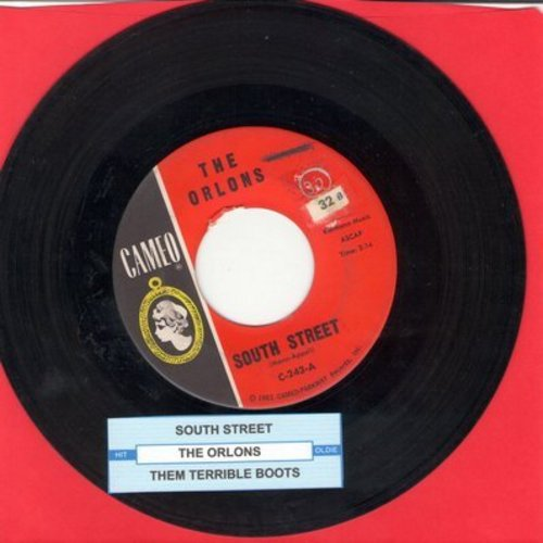 Orlons - South Street/Them Terrible Boots (with juke box label) - EX8/ - 45 rpm Records