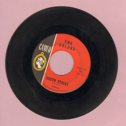 Orlons - South Street/Them Terrible Boots  - VG7/ - 45 rpm Records