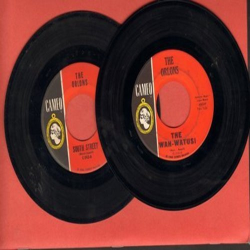 Orlons - 2 for 1 Special: The Wah-Watusi/South Street (2 original first issue 45rpm records for the price of 1!) - VG7/ - 45 rpm Records