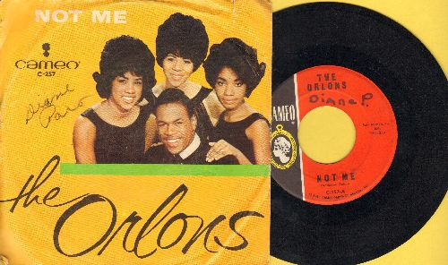 Orlons - Not Me/My Best Friend (with picture sleeve) (wol) - VG7/VG7 - 45 rpm Records