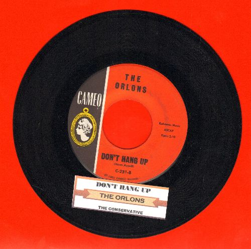 Orlons - Don't Hang Up/The Conservative (with jke box label) (wol) - NM9/ - 45 rpm Records