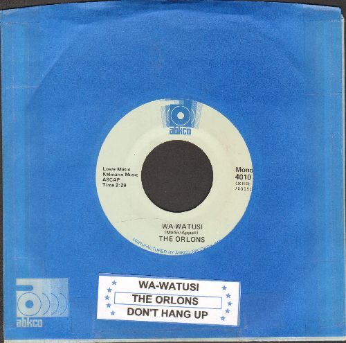Orlons - The Wa-Watusi/Don't Hang Up (double-hit re-issue with juke box label and Abkco company sleeve) - NM9/ - 45 rpm Records