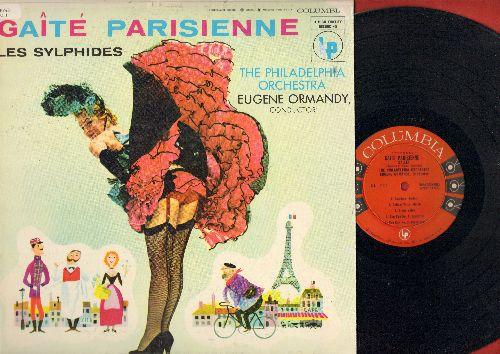 Philadelphia Orchestra, Eugene Ormandy, conductor - Gaite Parisienne - Les Sylphides: Offenbach's Ballet/Chopin's Ballet -  (Vinyl MONO LP record) - NM9/EX8 - LP Records