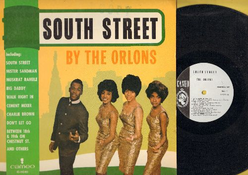 Orlons - South Street: Mister Sandman, Cement Mixer, Walk Right In, Charlie Brown, Don't Let Go (Vinyl MONO LP record, RARE DJ advance pressing) - EX8/NM9 - LP Records
