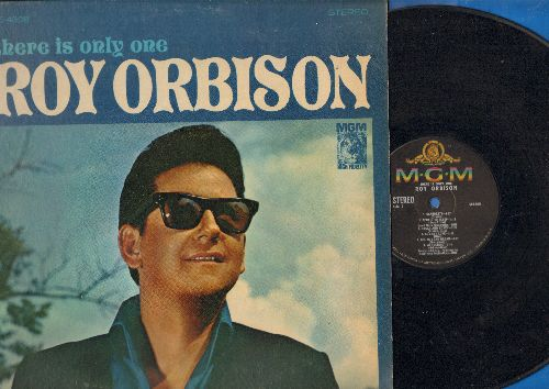 Orbison, Roy - There Is Only One Roy Orbison: Summer Love, Ride Away, I'm In A Blue Blue Mood, Sugar & Honey, Wondering (Vinyl STEREO LP record) - VG7/EX8 - LP Records