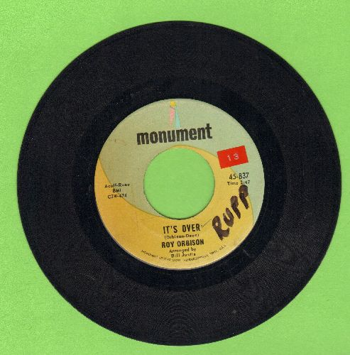 Orbison, Roy - It's Over/Indian Wedding (wol) - EX8/ - 45 rpm Records