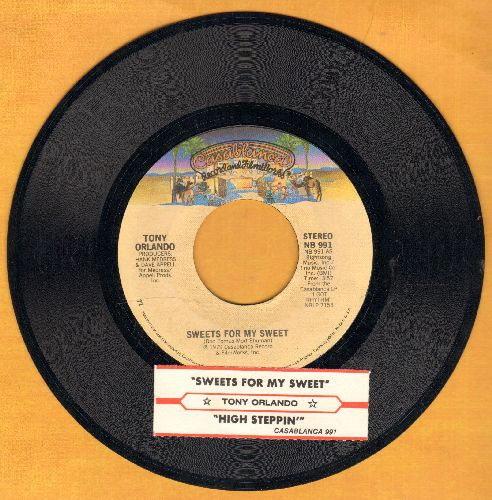 Orlando, Tony - Sweets For My Sweet/High Steppin' (with juke box label) - NM9/ - 45 rpm Records