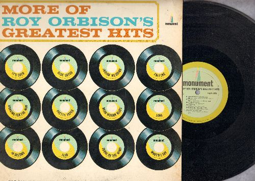 Orbison, Roy - More Of Roy Orbison's Greatest Hits: It's Over, Blue Bayou, Pretty Paper, Indian Wedding, What'd I Say (Vinyl MONO LP record) - EX8/EX8 - LP Records