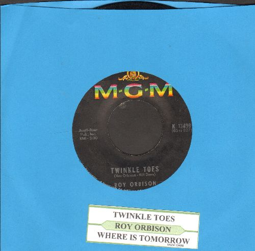 Orbison, Roy - Twinkle Toes/Where Is Tomorrow (with juke box label) (bb) - EX8/ - 45 rpm Records