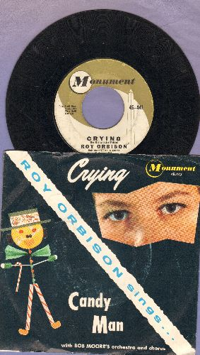 Orbison, Roy - Crying/Candy Man (with picture sleeve) - NM9/VG7 - 45 rpm Records