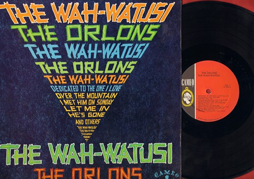 Orlons - The Wah-Watusi: I Met Him On A Sunday, Mashed Potato Time, Gravy, Dedicated To The One I Love (Vinyl MONO LP record) (wol, soc) - VG7/EX8 - LP Records