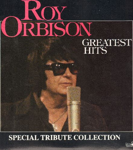 Orbison, Roy - Greatest Hits: Only The Lonely, In Dreams, Crying, Blue Angel, Blue Bayou, Oh Pretty Woman (2 vinyl LP records, 1986 pressing) - NM9/NM9 - LP Records