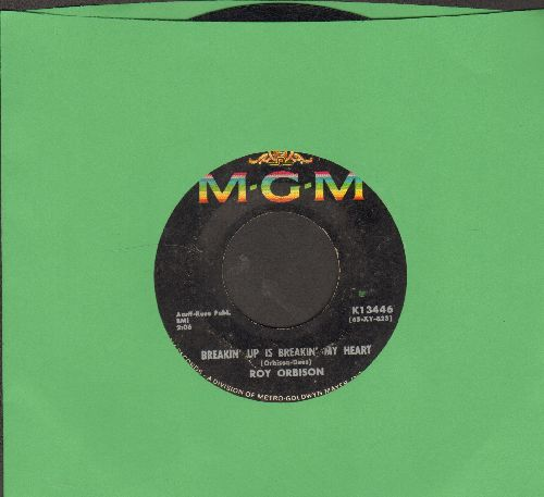 Orbison, Roy - Breakin' Up Is Breakin' My Heart/Wait  - VG7/ - 45 rpm Records