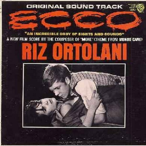 Ecco - Ecco - Original Motion Picture Sound Track, Score composed by Riz Ortolani (Vinyl MONO LP record) - NM9/EX8 - LP Records