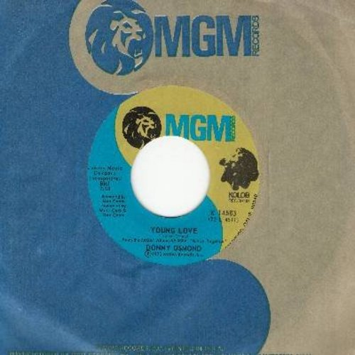 Osmond, Donny - Young Love/A Million To One (with MGM company sleeve) - M10/ - 45 rpm Records
