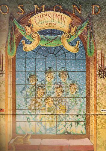 Osmonds - The Osmond Christmas Album: I'll Be Home For Christmas, Winter Wonderland, Sleigh Ride, White Christmas, The Christmas Song (2 vinyl LP records, gate-fold cover) - EX8/EX8 - LP Records